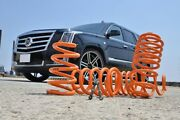 2015-2018 Cadillac Escalade Awd Front 2in Rear 3in Lowering Kit Made By Knock
