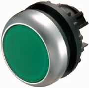Moeller Round Pushbutton Actuator 22.5mm Spring-return Front Ring Green