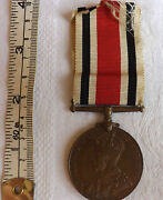 Military Wwi British Special Constabulary Police Medal George Taylor 2075