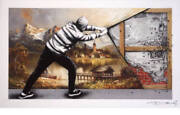 Martin Whatson And Pez Andndash Behind The Curtain Print Andndash The Wall /30