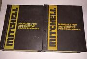 Mitchell 2 Manuals Emission Control Service And Repair Domestic Cars 1966-1982