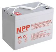Hr12280w 12v 1680watts 280watts/ Cell 12v 80ah Rechargeable Lead Acid Battery