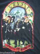 Vtg Guns N Roses Welcome To The Jungle Tour T-shirt 1988 Appetite For Sz M Rare