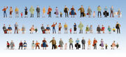 6042 Walthers Scenemaster Passengers On The Platform Figures Ho Scale 60 Pack