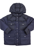 Little Boyand039s And Boyand039s Down Caban Jacket Size 8