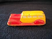 Sun Rubber Co Toy Car 1937 Station Wagon Vintage 1930's Hard Rubber Car Toy