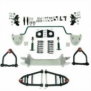Mustang Ii 2 Ifs Front End Kit For 48 And Earlier Nash Stage 2 Standard Spindle