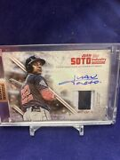 Juan Soto 2019 Topps Industry Conference Exclusive Autograph Gu Jersey 1/1 Auto