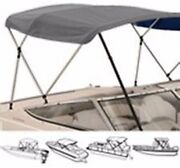 4 Bow High Profile Bimini Tops For Boats Fits 54 X H X 96 L X 79 To 84 Wide