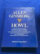 Howl. Original Draft Facsimile - First Trade Edition By Allen Ginsberg