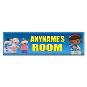 Personalized And Custom Printed Doc Mcstuffins Bedroom Poster Banner Decoration