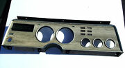 1975-76-77-78 Ford Mustang Ii Ghia Cobra Cluster Dash Bezel Trim And Heater Vent