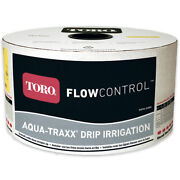 Toro 5/8 Flowcontrol Drip Tape-wall Thickness8 Mil-emitter Spacing12 Inch-flo