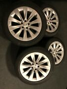 Tesla X Tire Set Of 4 With Rims