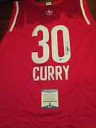 Steph Curry Signed Very Rare 2016 All Star Authentic Jersey Beckett Coa Warriors