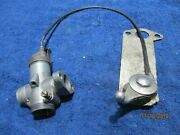 Amal Carb Body Fuel Deflector And Advance Lever