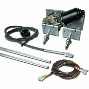 Heavy Duty Power Windshield Wiper Kit With Switch And Harness Cowl Mount Gm Cars