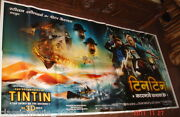 The Adventures Of Tintin 2011 Six Sheet Giant Poster 52 X 106