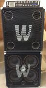 Warwick Bass Amp Stack X-treme 1000w Head With 410 / 115 Cabinet 411 Pro Cab