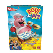 Pop The Pig Game — New And Improved — Belly-busting Fun As You Feed Him Burgers
