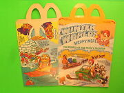 1983 Mcdonalds Hm Box - Winter Worlds - People Of The Frosty Frontier