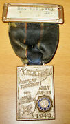 Vintage 1948 American Legion 30th Annual Convention Dpt Vermont St. Albans Medal