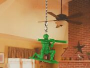 Toy Story Green Army Men Ceiling Fan Pull Light Lamp Chain Decoration K1293 D