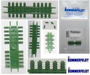 Sommerfeldt N.20 Insulators Green With Hole For Locomotives And Ladder-n 1/160