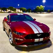 Fits 2005 - Up Mustang Shelby Style Rally Stripes