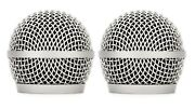 2 Pcs Microphone Grill Replacement For Shure Rpmp58g Microphone Grille For Pga58