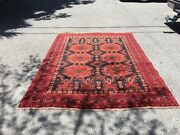 Antique Hand-knotted Rug 6andrsquo 10andrdquo X 9andrsquo 8andrdquo Stunning