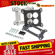 1933 Carb Adapter Kit 4-barrel To 4-bolt 2-barrel W/gaskets,studs,nuts,washers