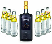 Gin Tonic Set - Beefeater Crown Jewel 1l 50 Vol + 6x Schweppes Tonic Water 2