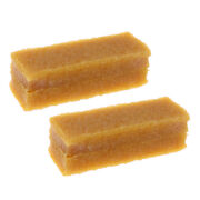 2x Great Rubber Skateboard Grip Tape Cleaner/dirt Remover Eraser Tool Yellow