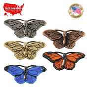 Creative Pewter Designs Monarch Butterfly Lapel Pin Or Magnet, A040pr