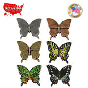 Creative Pewter Designs Tiger Butterfly Lapel Pin Or Magnet, A042