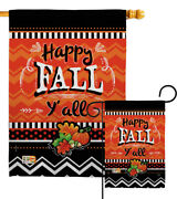Happy Fall Garden Flag Thanksgiving Small Decorative Gift Yard House Banner