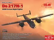 Icm 48271 - Do 217n-1, Wwii German Night Fighter - 1/48 Scale Model Kit 394 Mm