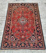Oriental Carpet. Wool Knoted By Hand. Middle East. Principle Xxth
