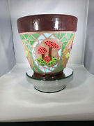 Mosaic Flower Pot - Handmade Tiles Look Great In Your Home F255