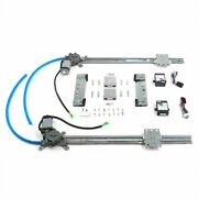 Street Rod Window One-touch Crank Switch Kit For 32-48 Dodge 1/2in 20in Bosch