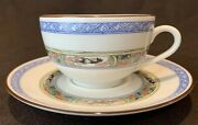 Puiforcat A Raynaud Limoges Kan Sou White Cup And Saucer Tea Coffee Many