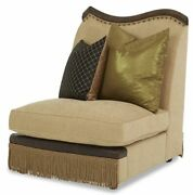 Aico Furniture - Victoria Palace Armless Chair - 61830-amber-29