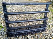 Fire Place Vintage Fret Guard Cast Iron Old Grill Grate 12 X 16 Early Victoria