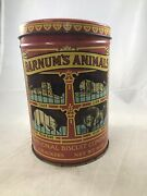 Vintage Barnumand039s Animal Crackers Tin 1979 National Biscuit Company