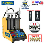 Autool Ct150 Ultrasonic Fuel Injector Tester Cleaner Machine For Car Van Motor