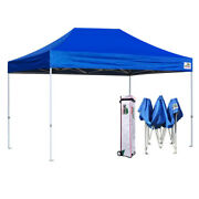 Eurmax Pop Up 10x15 Canopy Beyond Commercial Patio Tent Shelter+roller Bag