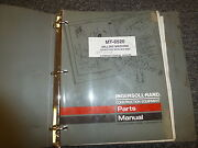Ingersoll Rand Mt6520 Milling Machine Parts Catalog Manual Book S/n 5092-up