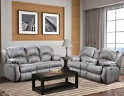 Southern Motion - Cagney Power Headrest Double Reclining Sofa And Console Lovese