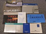 1986 Mercedes Benz 560sl Convertible Owner Owner's Manual User Guide 5.6l